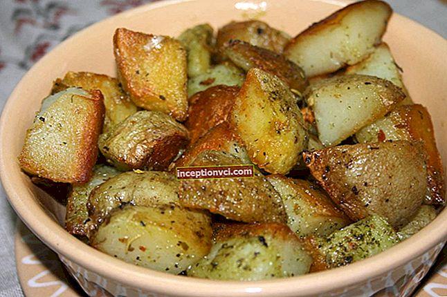 Cách chiên khoai tây để có được lớp vỏ vàng và hương vị