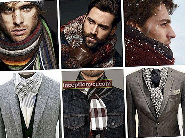 Como amarrar um lenço para um homem: 5 maneiras originais