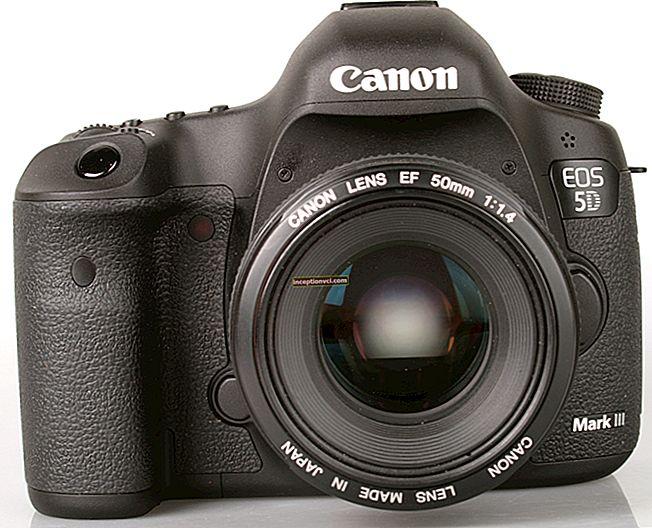Análise da Canon 5D mark III