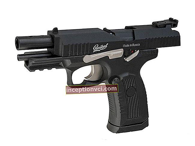 """Revisão da pistola pneumática """"Baikal MR-655K""""."""