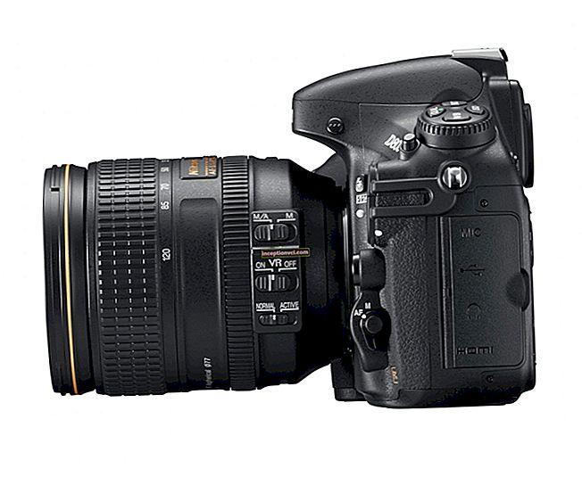 Đánh giá máy ảnh DSLR Nikon D800