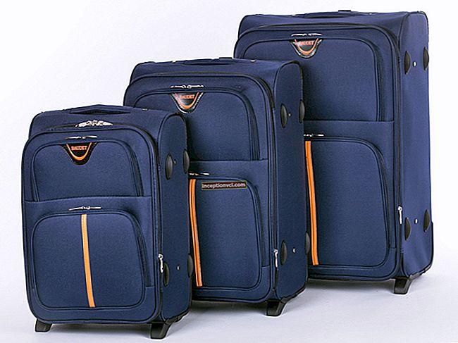 Како одабрати кофер: шта је боље - пластика или тканина?