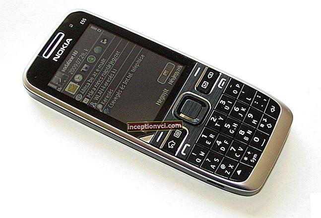 مراجعة هاتف Nokia E55 الذكي