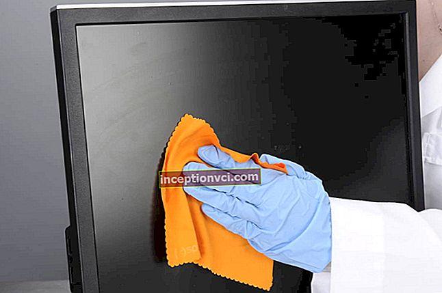 Como limpar o monitor