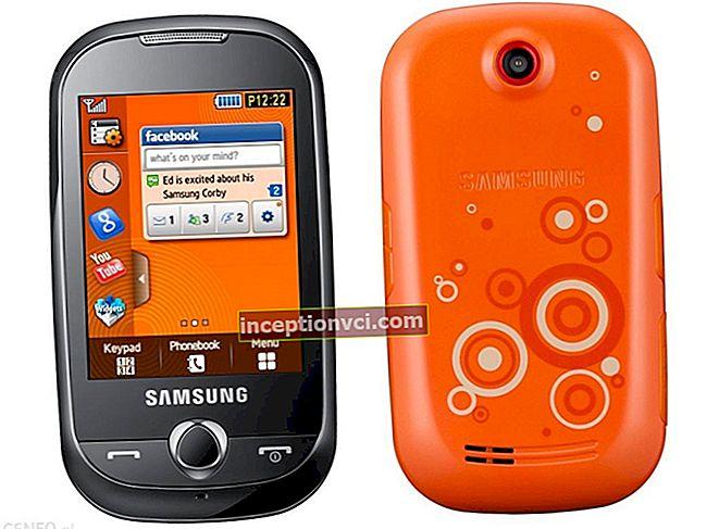 Análise do Samsung S3650 Corby