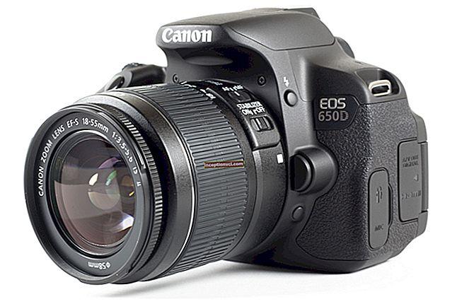 Canon EOS 650D em resumo