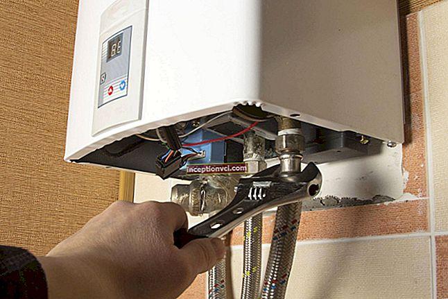 Como instalar um aquecedor de água: nós mesmos instalamos o aquecedor de água