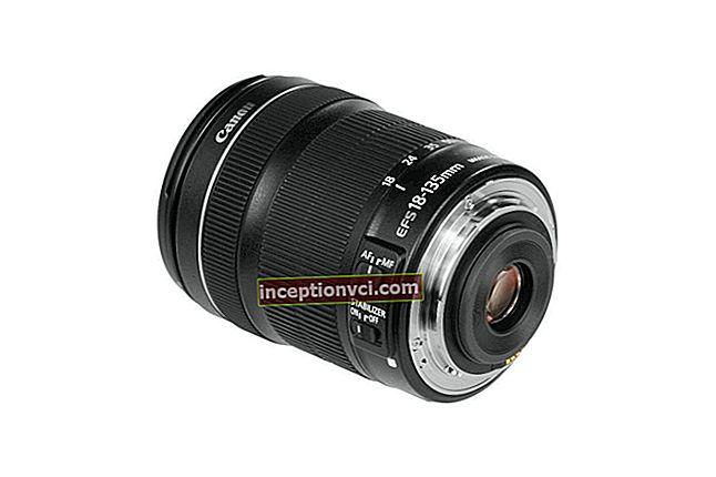 Description of the lens Canon EF 28-135 mm F 3.5-5.6 IS USM