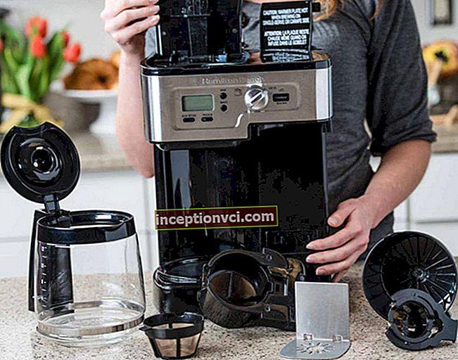 Como limpar uma cafeteira