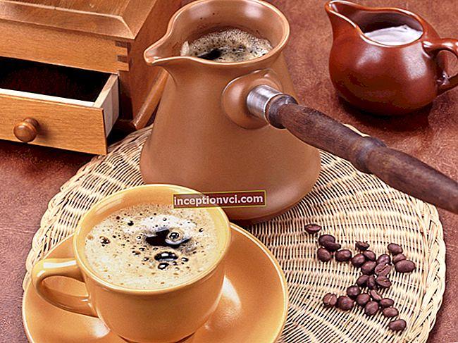Máquina de café, máquina de café turca ou geyser - o que é melhor? Fazendo um café incrível