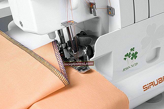 Como escolher uma máquina de costura (com overlock) - classificação dos modelos populares