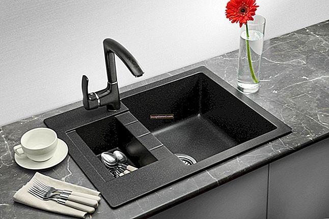 Como escolher uma pia para a cozinha: o que é melhor - aço inoxidável ou pedra artificial