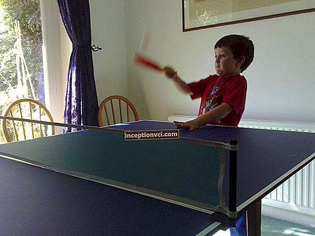 كيف تلعب تنس الطاولة
