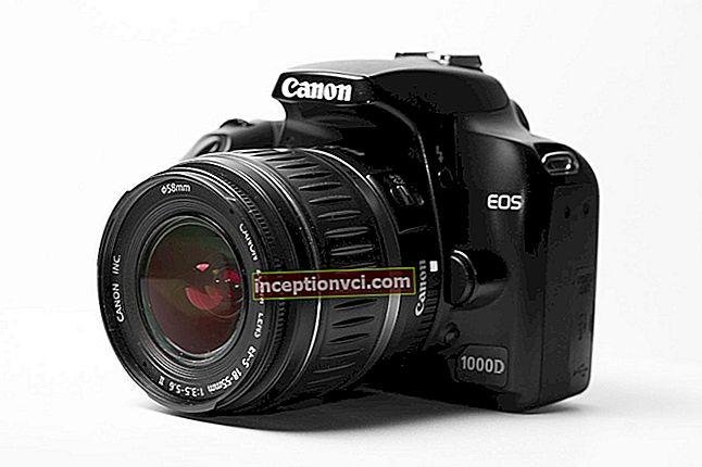 Análise da Canon EOS 1000D
