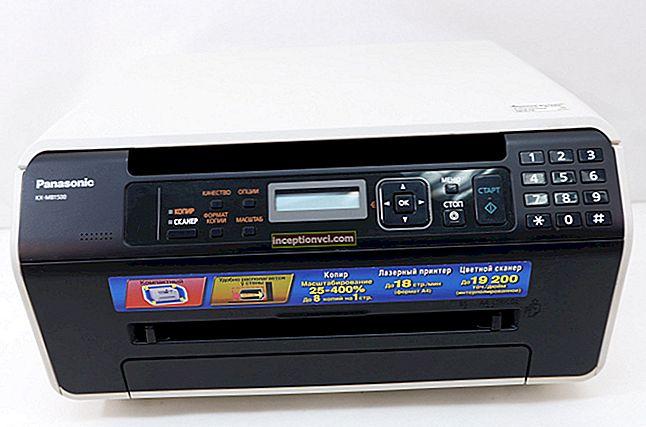 Análise do MFP Panasonic KX-MB1500