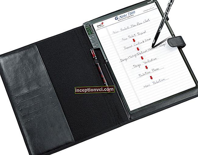 Genius G-Note 7100 - notebook digital